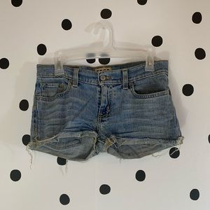 ☀️BOGO☀️Hollister shorts brown pockets size 3